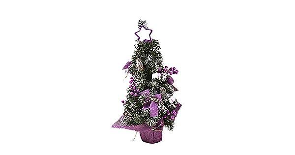 Amazon.com: Mini árbol de Navidad de 12.0 in para mesa de ...