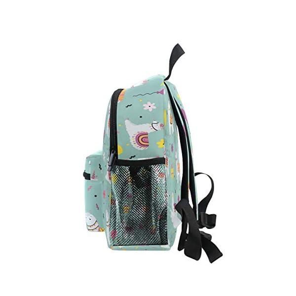 Alpaca Green Toddler Zaino Scuola Multi Carino Bookbags per la Scuola Ragazzi e Ragazze Ragazze Ragazzi Borse Bambini… 4 spesavip