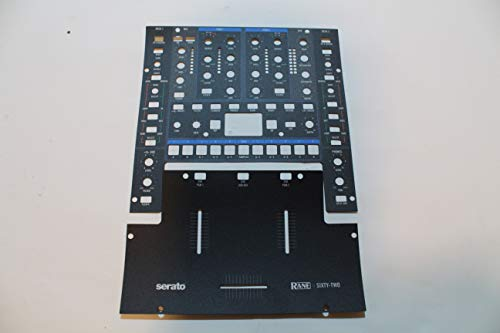 Rane Sixty-Two : Upper and Lower replacement lexan - Factory Official ()