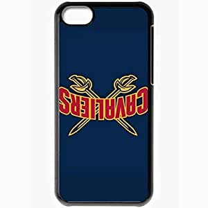 For Iphone 5C Case Cover PC Phone Cases Covers(cleveland Cavaliers)
