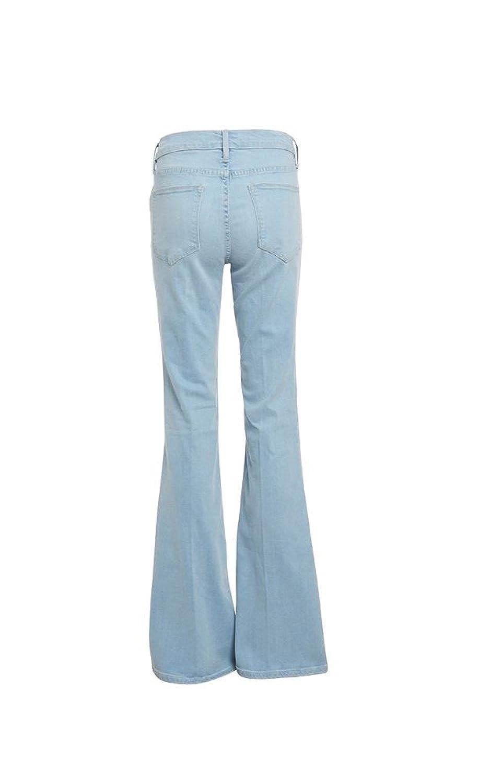 FRAME Denim Women's Le High Flare Sunnyspot Jeans