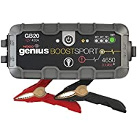 NOCO Boost Sport GB20 400 Amp 12-Volt Ultra Safe Portable Lithium Car Battery Jump Starter Pack for Up to 4-Liter Gasoline Engines