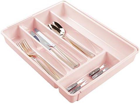 mDesign Adjustable Expandable Plastic Organizer product image