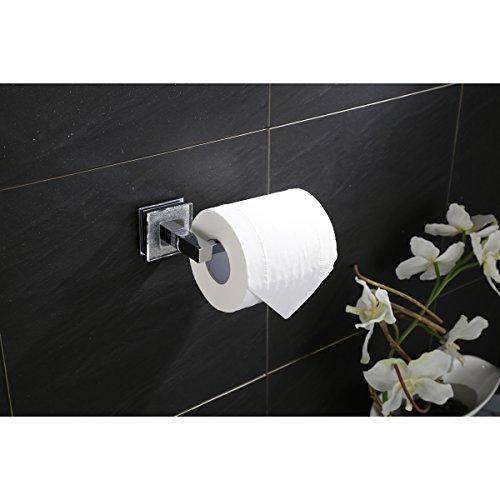 Ruvati RVA5009 Valencia Toilet Paper Holder Luxury Bathroom Accessory, Crystal and Chrome by Ruvati (Image #1)