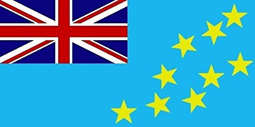 Haute Qualité pour U24 Drapeau du Bateau Tuvalu drapeau 150 x 250 cm