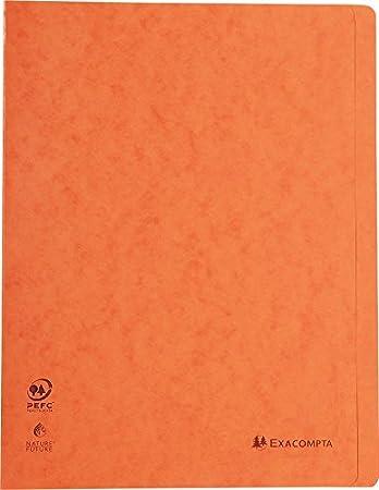 Exacompta 38982E Schnellhefter Heftmechanik, Manila-Karton, 265g, DIN A4 1 St/ück wei/ß