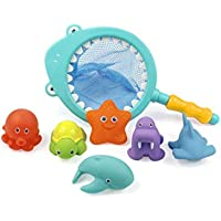 7Pcs/lot Baby Bath Toys for Children Boys Girls Water Swimming Pool Fun Playing Toy