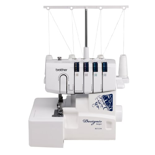 (Brother Designio Series DZ1234 Serger )