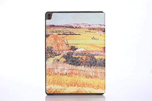 inShang 9.7 inch iPad (2017) Fundas soporte y carcasa para Apple 9.7 inch iPad (2017) ( , smart cover PU Funda ,art style + clase alta 2 in 1 inShang marca negocio Stylus pluma farm