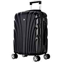 Olympia USA Voss Hard-Sided 8-Wheel Spinner Luggage