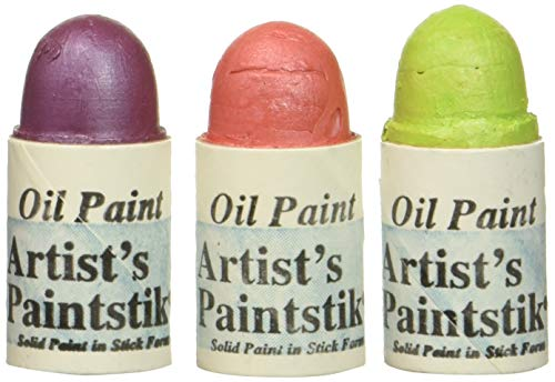 (Jack Richeson Shiva Oil Paintstik, Sorbet, Set of 3)