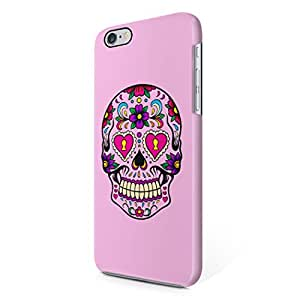 Sugar Candy Mexican Skulls Pattern Hard Plastic iPhone 6 Plus / iPhone 6S Plus Phone Case Cover