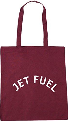 Tote Beach HippoWarehouse x38cm litres Shopping 42cm Jet 10 Bag Gym Burgundy Fuel wqwpSnxB