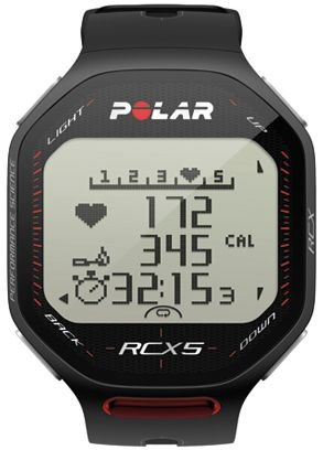 Polar RCX5 SD Heart Rate Monitor (Black) (Rcx5 Rate Strap Heart Polar)