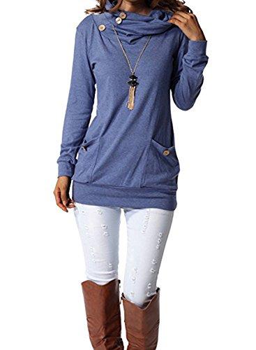 Tricot Crois BLACKMYTH En V Casual Femme Vrac Sweaters Izw6zqR