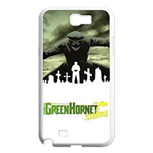 TOSOUL Custom painting The Green Hornet 2 Phone Case For Samsung Galaxy Note 2 N7100 [Pattern-4]