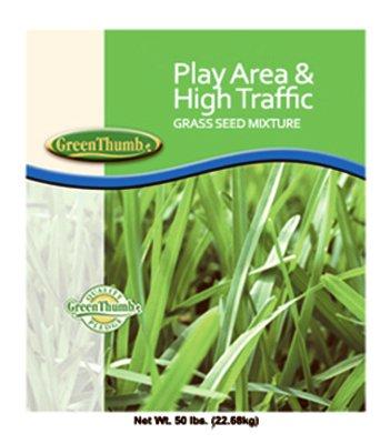 Barenbrug 13086 50 lbs. Play Area & High Traffic Grass Seed