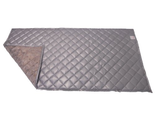 Singer Safety SC122 Single Faced Quilted Fiberglass Panel with Grommets, 4' Width x 6' Height x 1'' Thick by Singer Safety