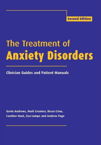 The Treatment of Anxiety Disorders: Clinician Guides and Patient Manuals