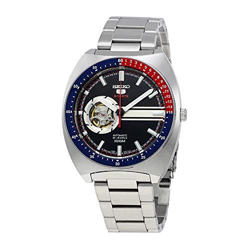 SEIKO 5 Sports 100M Retro Automatic Open Heart Watch ()