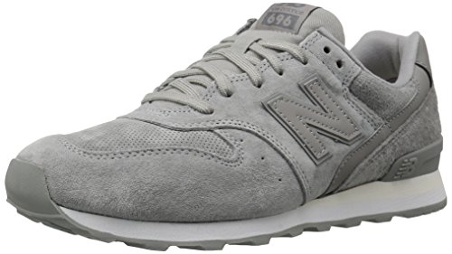 New Balance Dames 696v1 Classic Sneaker Grijs / Wit