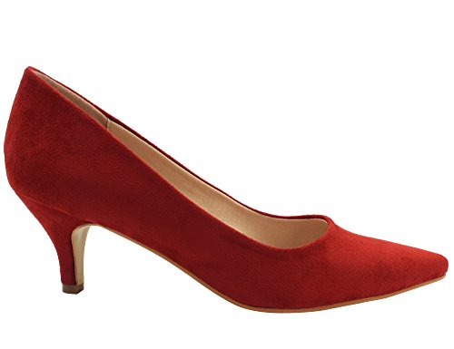 Womens Red Greatonu Pump Dress Kitten 7xxgzqdp