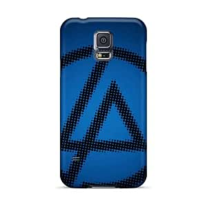 Samsung Galaxy S5 Durable Hard Phone Case Unique Design High Resolution Linkin Park Pictures [bNw112yGDB]