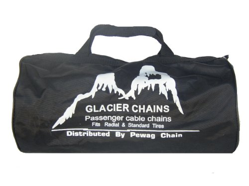 Glacier 1046 Passenger Cable Tire Chain - Set of 2