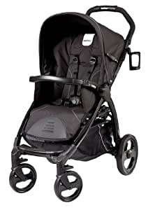 Peg Perego Book Stroller, Nero Reflect (Discontinued by Manufacturer)