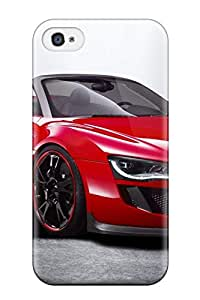 Fashion GVaKeQd19634KIanc Case Cover For Iphone 4/4s(audi R8 Spyder 34)