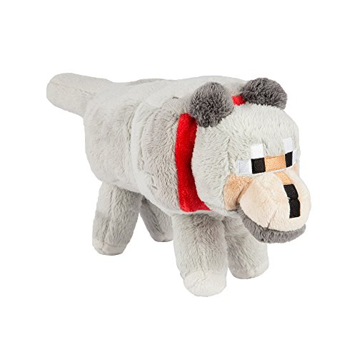 Minecraft Wolf Plush Stuffed Animal product image
