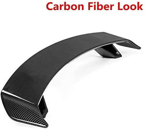 L.P.L A-U-D-I A3 S3 A4 S4 A5 S5 RS5 A6 S6 A7 A8 R8 TT TTS TTRSスポイラーウイングのための車のリアトランクブートリップスポイラーウイング (Color : Carbon Fiber, Size : フリー)