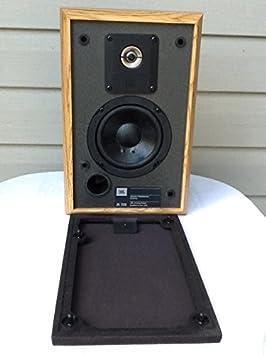Single (1) JBL 2500 Bookshelf Speaker, 8 Ohms System Impedance, Pure