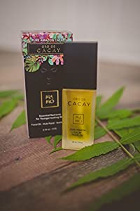 Oro De Cacay Facial Oil - 100% Pure and Natural Amazon Cacay, Ultra rich in Anti-aging Nutrients for Younger, Firmer Looking Skin
