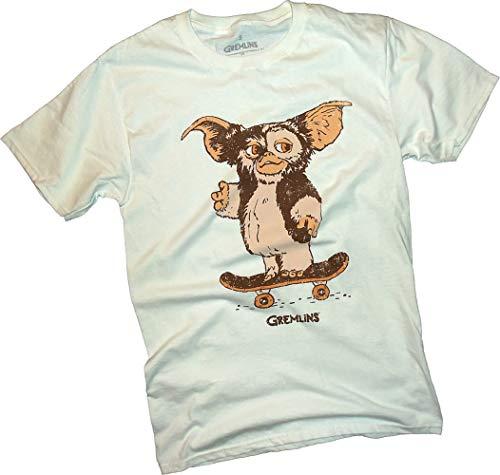 Gremlins, Skateboard Gizmo, Adult T-Shirt, Large