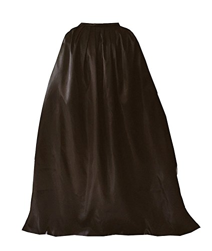 GOLDSTITCH Cape Costume Full Length Deluxe Adult Cape Cloak Knight Fancy Cool Cosplay Costume Brown (Deluxe Vampire Costume)