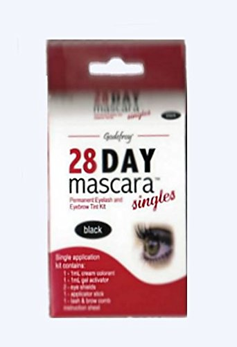Godefroy 28 Day Mascara - Black Single Application (Pack of 2)