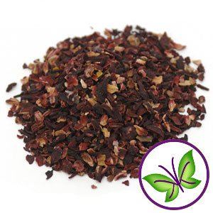 Organic Dried HIBISCUS for Flavoring Kombucha (20-30 Servings) (Organic Dried Hibiscus Flowers)