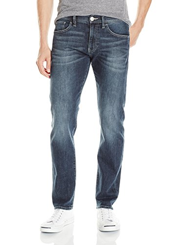 Men Pants Armani Jeans - A X Armani Exchange Men's  Straight Fit Jean, Medium Wash, 36 Short