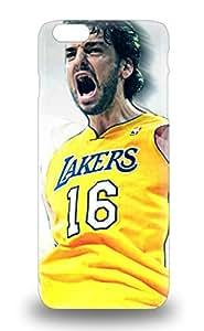 Durable Protector 3D PC Case Cover With NBA L.A. Lakers Pau Gasol #16 Hot Design For Iphone 6 Plus ( Custom Picture iPhone 6, iPhone 6 PLUS, iPhone 5, iPhone 5S, iPhone 5C, iPhone 4, iPhone 4S,Galaxy S6,Galaxy S5,Galaxy S4,Galaxy S3,Note 3,iPad Mini-Mini 2,iPad Air )