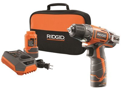 RIDGID TOOL COMPANY GIDDS2-3554590 12V 2-Speed Drill Kit For Sale
