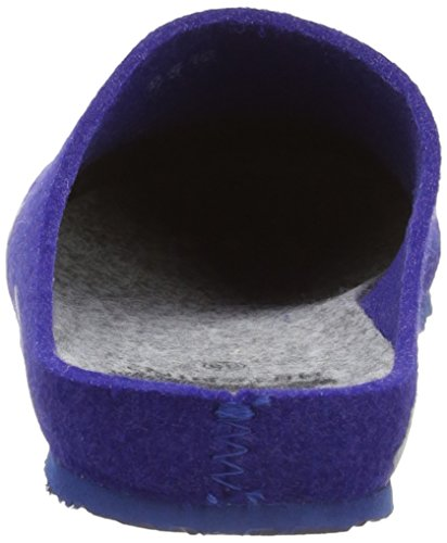 Scholl ATHES - pantuflas de material sintético mujer azul - Blau (navy blue/grey)