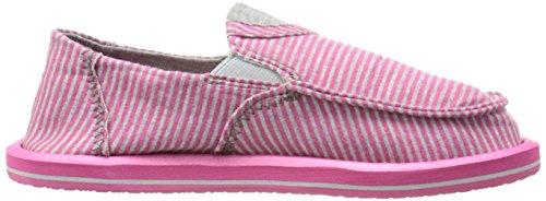 Pick Tee Fuchsia Kids Pocket Stripes Sanuk Flat P5vFn1tq