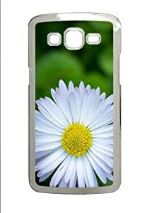 Samsung Grand 7106 Case, Samsung Grand 7106 Cases -Camomile Polycarbonate Hard Case Back Cover for Samsung Grand 2/7106 Transparent