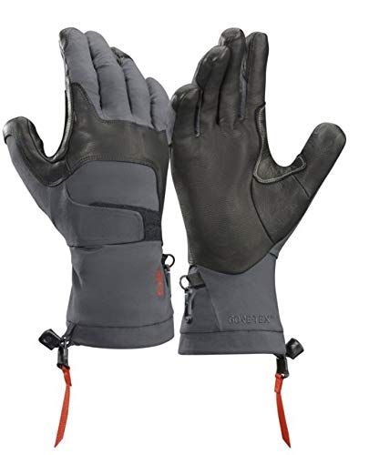 Arc'teryx Alpha FL Glove (Graphite/Cardinal, Small)