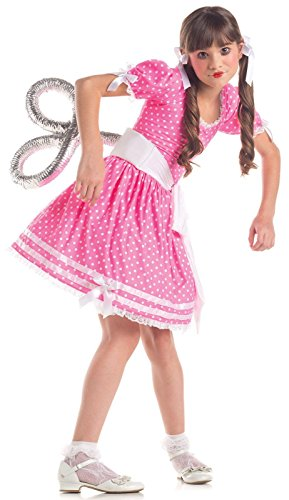 [Wind Up Doll Costume - Large] (Halloween Costumes Scary Doll)
