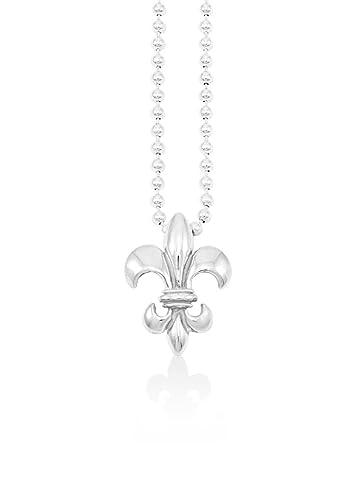 Amazon mignon faget fleur de lis pendant necklace sterling mignon faget fleur de lis pendant necklace sterling silver 18quot aloadofball Choice Image