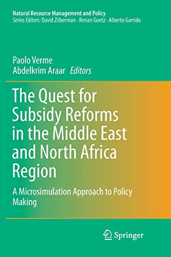 The Quest for Subsidy Reforms in the Middle East and North Africa Region: A Microsimulation Approach to Policy Making