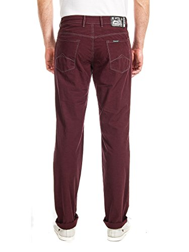 Uomo Gamba Carrera 493 A Basic Bordeaux Jeans Dritta wqRRHOXt