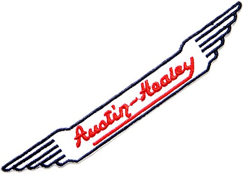 [Austin Healey Logo Sign Patch Sew Iron on Applique Embroidered T shirt Jacket Custom Gift BY SURAPAN] (Austin Floor Mat)